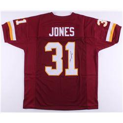 Matt Jones Signed Jersey (JSA COA)
