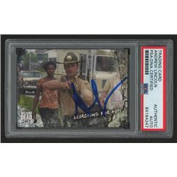 Andrew Lincoln Signed 2018 The Walking Dead Road to Alexandria #12 Searching for Hope (PSA Encapsula
