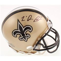 Tre'Quan Smith Signed New Orleans Saints Mini Helmet (JSA COA)