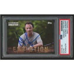 Andrew Lincoln Signed 2017 The Walking Dead Evolution #6 Rick Grimes (PSA Encapsulated)