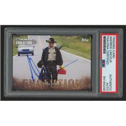 Andrew Lincoln Signed 2017 The Walking Dead Evolution #1 Rick Grimes (PSA Encapsulated)