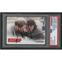 Andrew Lincoln Signed 2018 The Walking Dead Road to Alexandria Rise Up #RU6 His Own Medicine (PSA En