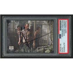 Andrew Lincoln Signed 2018 The Walking Dead Road to Alexandria #33 Securing the Prison (PSA Encapsul