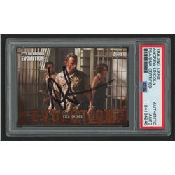 Andrew Lincoln Signed 2017 The Walking Dead Evolution #3 Rick Grimes (PSA Encapsulated)