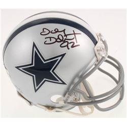 Tony Tolbert Signed Dallas Cowboys Mini Helmet (Jersey Source Hologram)