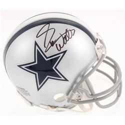 Everson Walls Signed Dallas Cowboys Mini Helmet (Jersey Source COA)