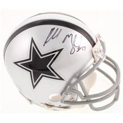 Russell Maryland Signed Dallas Cowboys Mini Helmet (JSA COA)