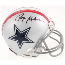Roger Staubach Signed Dallas Cowboys Mini Helmet (Beckett COA)