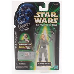 """Richard LeParmentier Signed """"Star Wars"""" Admiral Motti Action Figure Inscribed """"The Force Works!""""  """"M"""