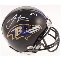 Jamal Lewis Signed Baltimore Ravens Mini Helmet (Beckett COA)