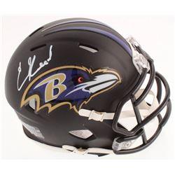 Ed Reed Signed Baltimore Ravens Speed Mini Helmet (Beckett COA)