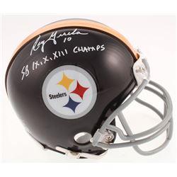 "Roy Gerela Signed Pittsburgh Steelers Mini Helmet Inscribed ""SB IX, X, XIII Champs"" (Jersey Source C"