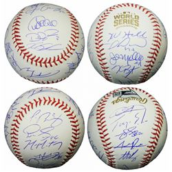2016 Chicago Cubs World Series Baseball Team-Signed by (23) with Kris Bryant, Anthony Rizzo, Ben Zob