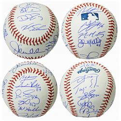 2016 Chicago Cubs World Series Champions OML Baseball Team-Signed by (23) with Joe Maddon, Theo Epst