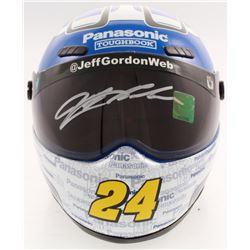 Jeff Gordon Signed NASCAR Panasonic 1:3 Scale Mini-Helmet (Gordon Hologram)