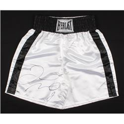 Floyd Mayweather Jr. Signed Everlast Boxing Trunks (Schwartz COA)