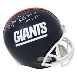 """Ottis Anderson Signed New York Giants Full-Size Throwback Helmet Inscribed """"SB XXV MVP"""" (Schwartz CO"""