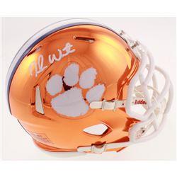 Deshaun Watson Signed Clemson Tigers Chrome Speed Mini-Helmet (Watson Hologram)