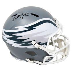 Randall Cunningham Signed Philadelphia Eagles Full-Size AMP Alternate Speed Helmet (Schwartz COA)