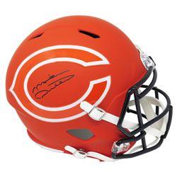 MIke Ditka Signed Chicago Bears Full-Size AMP Alternate Speed Helmet (Schwartz COA)
