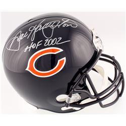"""Dan Hampton Signed Chicago Bears Full-Size Helmet Inscribed """"HOF 2002"""" (Schwartz COA)"""