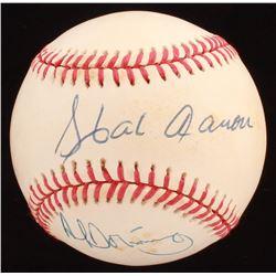 Hank Aaron Signed ONL Baseball (Beckett COA)