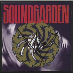 """Chris Cornell Signed Soundgarden """"Badmotorfinger"""" CD Disc Insert (JSA COA)"""