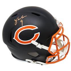 Jim McMahon Signed Chicago Bears Full-Size Matte Black Speed Helmet (Schwartz COA)