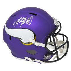 Adrian Peterson Signed Minnesota Vikings Full-Size Speed Helmet (Schwartz COA)