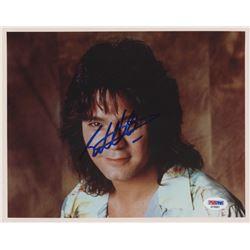 Eddie Van Halen Signed 8x10 Photo (PSA COA)