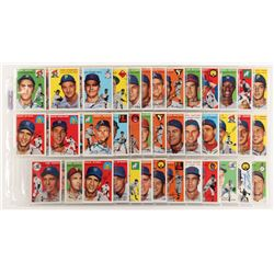 Lot of (97) Signed 1954 Topps Reprint Baseball Cards with Any Pafko, Ted Kazanski, Ted Lepcio, Bob C