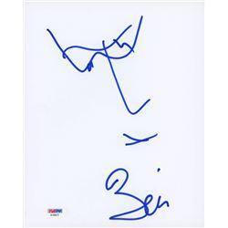 Bono Signed 8x10 Hand-Drawn Sketch (PSA COA)