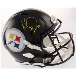 Mason Rudolph Signed Pittsburgh Steelers Full-Size Speed Helmet (Schwartz COA)