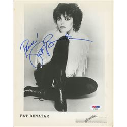 "Pat Benatar Signed 8x10 Photo Inscribed ""Peace!"" (PSA COA)"
