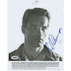 Arnold Schwarzenegger Signed 8x10 Photo (PSA COA)