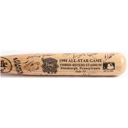1994 All-Star Game Engraved Louisville Slugger Baseball Bat Signed by (29) with Tony Gwynn, Mike Pia