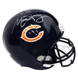 Mitch Trubisky Signed Chicago Bears Full-Size Helmet (Fanatics Hologram)