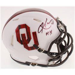 "Kyler Murray Signed Oklahoma Sooners Speed Mini Helmet Inscribed ""HT 18"" (Beckett COA)"
