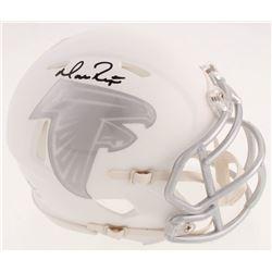 Matt Ryan Signed Atlanta Falcons White ICE Speed Mini Helmet (Fanatics Hologram)