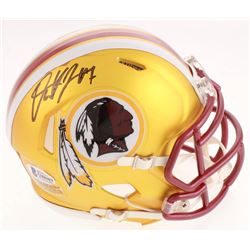 Dwayne Haskins Signed Washington Redskins Blaze Speed Mini Helmet (Beckett COA)