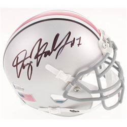 Dwayne Haskins Signed Ohio State Buckeyes Mini Helmet (Beckett COA)