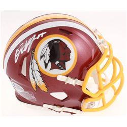 Dwayne Haskins Signed Washington Redskins Speed Mini-Helmet (Beckett COA)