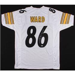 "Hines Ward Signed Jersey Inscribed ""SB XL MVP"" (Beckett COA)"