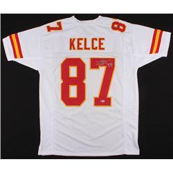 Travis Kelce Signed Jersey (Beckett COA)