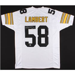 "Jack Lambert Signed Jersey Inscribed ""HOF '90"" (Beckett COA)"