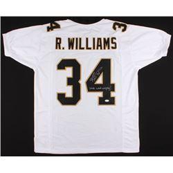 "Ricky Williams Signed Jersey Inscribed ""Smoke Weed Everyday!"" (JSA COA)"