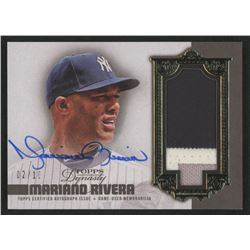 Mariano Rivera 2019 Topps Dynasty Autograph Patches #APMR2