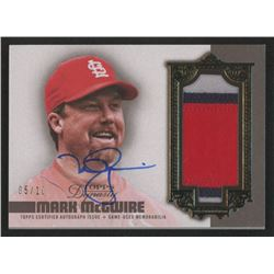 Mark McGwire 2019 Topps Dynasty Autograph Patches #APMM2