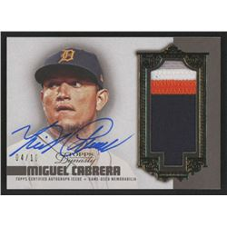 Miguel Cabrera 2019 Topps Dynasty Autograph Patches #APMCA