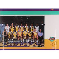 2000 Los Angeles Sparks 19x26.5 Poster Signed by (19) with Michael Cooper, Lisa Leslie, DeLisha Milt